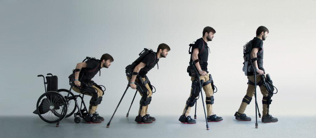 Image courtesy of Ekso Bionics.